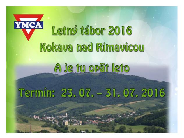 pripravujeme Letny tabor 2016